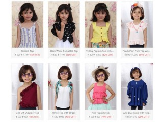 Shop Tops Shirts for Baby Girls only in 400