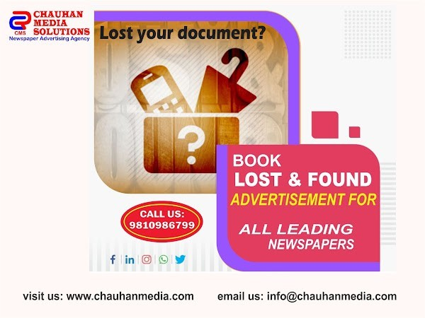 book-lost-found-advertisement-for-any-newspaper-from-chauhan-media-big-0