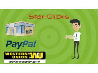 Earn money online by clicking ads