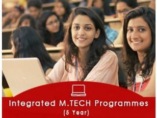 Integrated M.Tech Admissions (5 Year Programmes)
