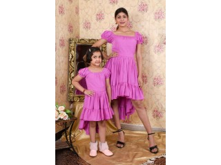 Shop Mother and Daughter Same Dress Online in Pune