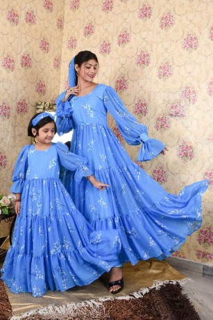 shop-mother-and-daughter-same-dress-online-in-faridabad-big-1