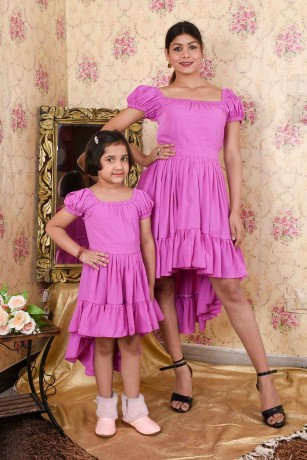 shop-mother-and-daughter-same-dress-online-in-faridabad-big-0