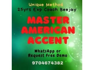 Learn from HOME how to Master American Accent Online
