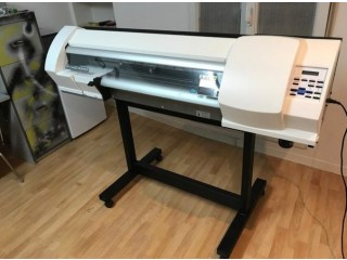 """New Vinyl Cutter Machine for T-Shirts with Camera Contour Cut 24"""" + Signmaster"""