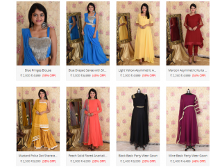 Shop Women Clothes for Diwali online in India