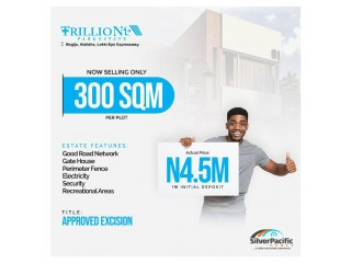 BUY 3 PLOTS OF TRILLION AND GET A PLOT AT THE CLAYTON FOR FREE (Call or Whatsapp - 07087629763)