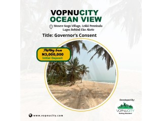 Land With Governors Consent For Sale at Vopnu City Ocean View Estate