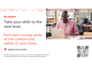 Work from Home  Translation English to Southern Sotho | Appen