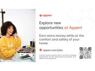 Work from Home | Short-term Earning Potential at Appen