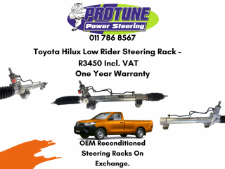 Toyota Hilux Low Rider - OEM Reconditioned Steering Racks