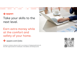 Appen | Flexible Work from Home Opportunities | Join us!